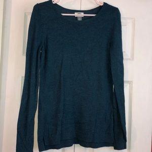 Blue crew neck sweater (lightweight)
